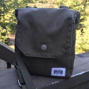 Duluth Trading Co Army Green Sling Crossbody Bag